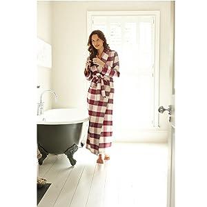 The Irish Linen Store Mandy Brushed Cotton Robe       Customer reviews