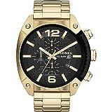 Diesel Men's DZ4342 Overflow Gold Watch (Color: Stainless Steel, Tamaño: 1 pc)
