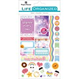 Paper House Productions STPL-0015 Kawaii Weekly Kit Planner Stickers, 3-pack, (Color: Planner, Tamaño: 3-pack)
