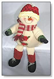 Animated Snowman Singing Holiday Music