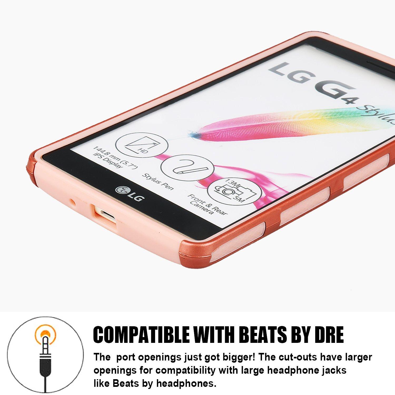 LG G Stylo Case, EC™ Premium Extra Slim Hybrid Shockproof