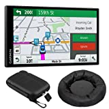 Garmin 010-01681-02 DriveSmart 61 NA LMT-S GPS w/Smart Features Dash-Mount Bundle - (Renewed) (Color: Certified Refurbished Bundle)