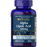Puritans Pride Alpha Lipoic Acid 300 Mg, 120 Count