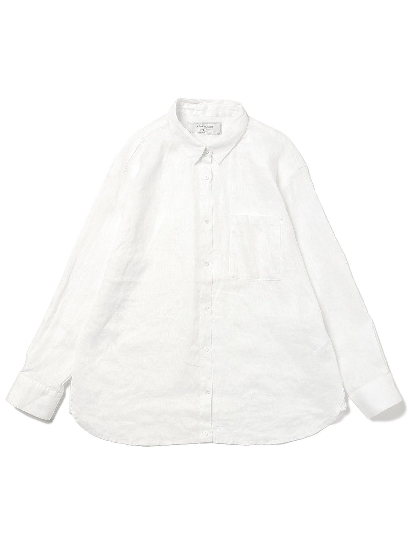 Amazon.co.jp: (ビームスライツ) BEAMS LIGHTS WOMEN / リネン 2WAYシャツ: 服&ファッション小物