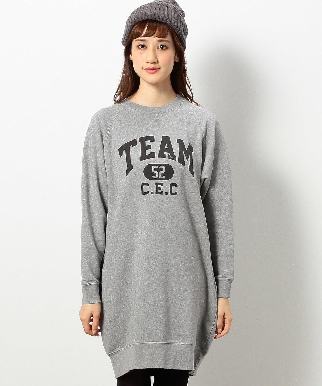 Amazon.co.jp: (コーエン) COEN 裏毛ロゴプリントワンピース: 服&ファッション小物通販