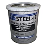 STEEL-IT Gray Polyurethane 1002Q (Quart) (Color: Gray)
