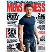 1-Year (10 issues) Mens Fitness Magazine Subscription