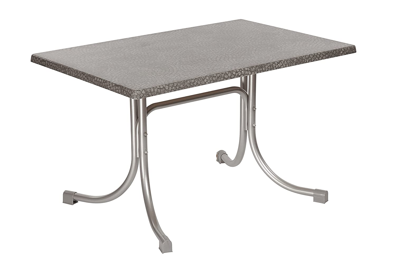 Acamp Boulevard Klapptisch 110×70 platin mosaik grau, Gastronomie geeignet bestellen
