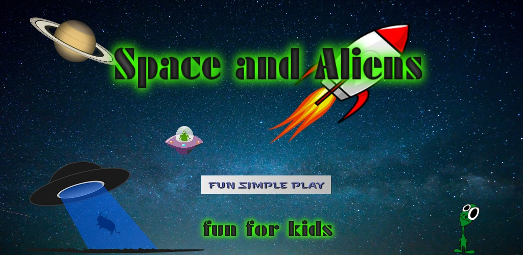 Amazon.com: Space Games For Kids: Aliens: Appstore For Android