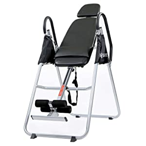 Invertio<sup>®</sup> Premium Folding Inversion Table with Padded Backrest width=