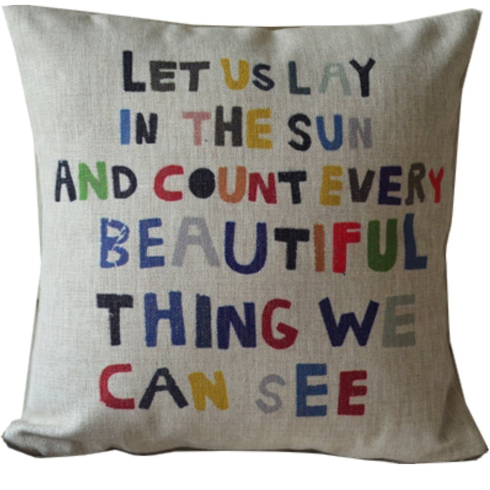 Throw Pillows With Letters on Them images