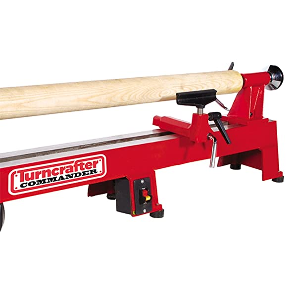 PSI Woodworking TCLC10XB Commander 10-Inch Midi Lathe Extension Bed (Tamaño: 10-Inch)