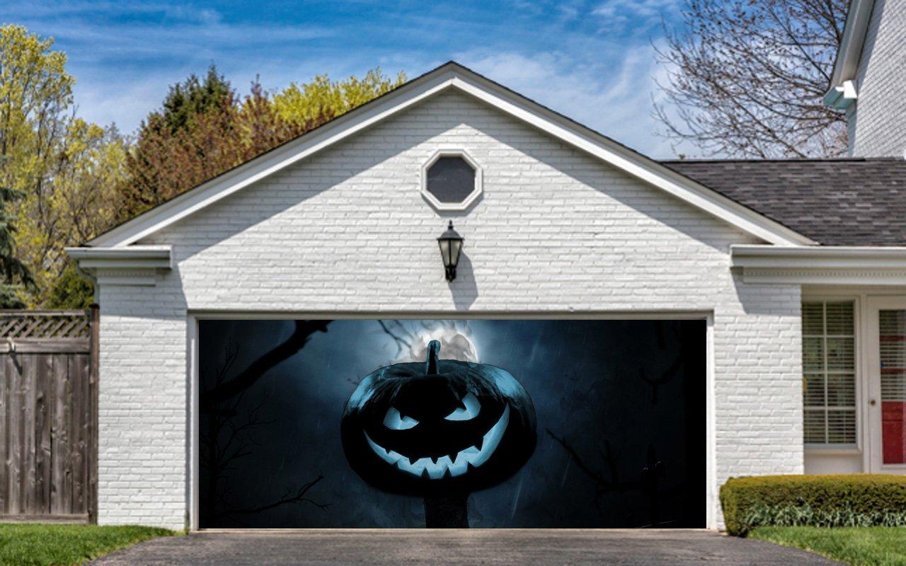 Garage Doors Dekoration : Halloween garage door decor wikii