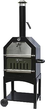 La Hacienda Steel Pizza Oven and Smoker