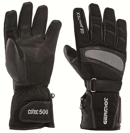 Toute gERMOT jACKSON gants cuir et textile-noir/gris