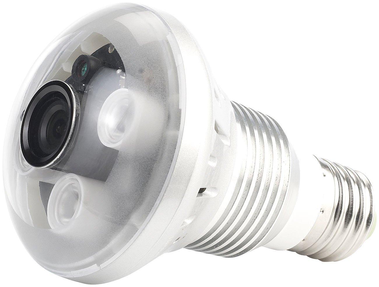 OctaCam LEDLampe, 3W, E27 mit integrierter HD und IRLEDs  BeleuchtungÜberprüfung und weitere Informationen