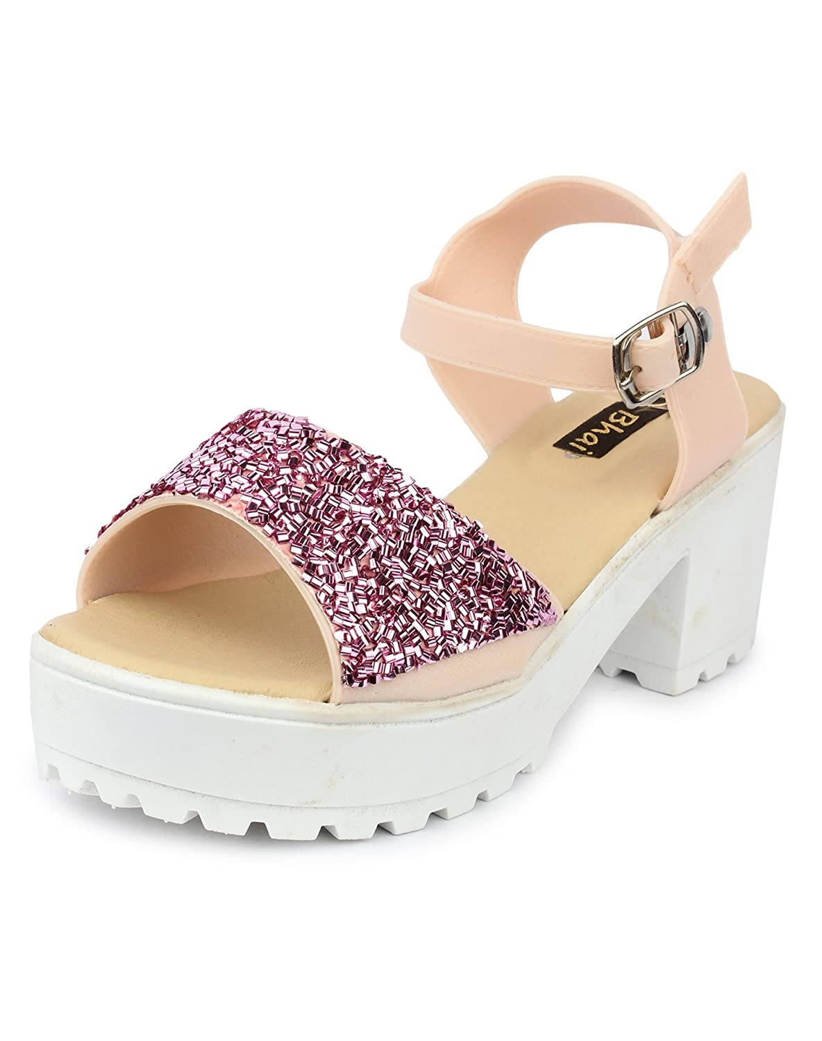 Synthetic Jelly Hatoda Light Weight, Flexible, Comfortable Sandal, Premium Quality, Indoor Slipper, Outdoor slipper for women (40 EU, Pink)