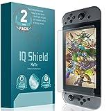 Nintendo Switch Screen Protector, IQ Shield® Matte Full Coverage Anti-Glare Screen Protector for Nintendo Switch (2-Pack) Bubble-Free Film