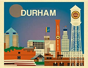 Durham, North Carolina poster