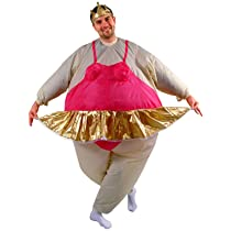 Inflatable Ballerina Adult Costume Size One-Size