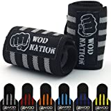 Wrist Wraps by WOD Nation - Wrist Support Straps (12