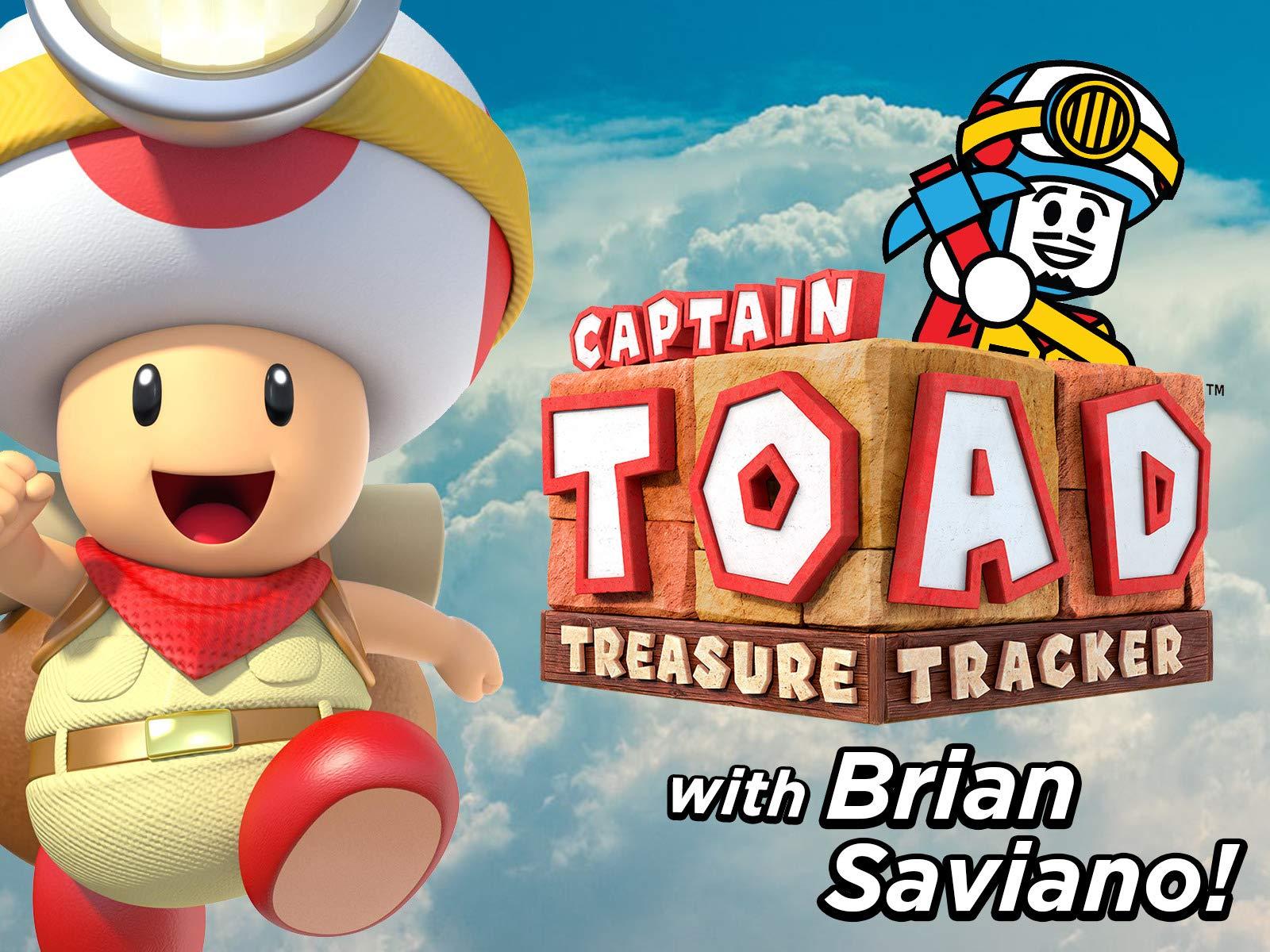 Clip: Captain Toad Treasure Tracker with Brian Saviano! - Season 1