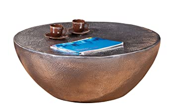 Links 87300500 - Mesa de sofá (70 cm, redondo, aluminio)