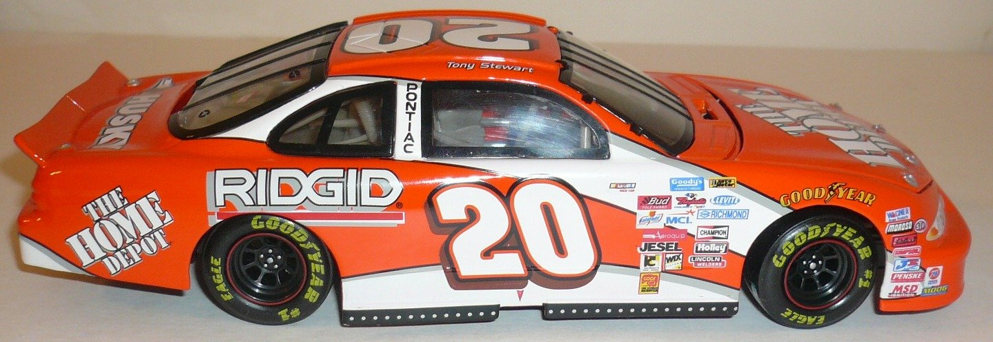 1999 Limited Edition Tony Stewart #20 1:24 Scale Nascar Stock Car Bank rod stewart rod stewart every picture tells a story 180 gr