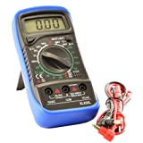 JacobsParts Digital Multimeter AC DC Voltmeter Ammeter Ohmmeter Volt Tester Meter XL830L