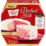 Duncan Hines Perfect Size Cake Mix, Strawberries & Crème, 9.4 Ounce (Tamaño: 9.4 Ounce)