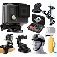 GoPro HERO Action Camera Camcorder + Case + Tripod + Floating Grip + Head Strap + Car Mount + Hand Glove + $19.99 Sears Credit