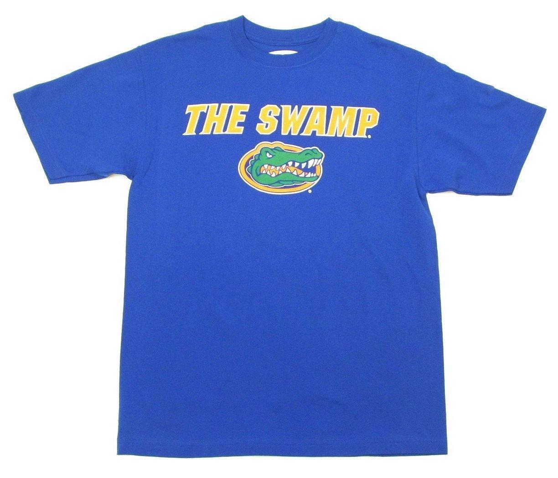 Florida gators the swamp blue t shirt by e5 ebay for Florida gators the swamp shirt