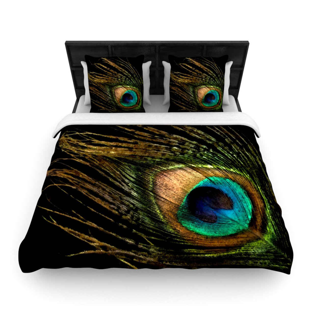 Beautiful peacock pillows and bedding sets for your home - Peacock bedspreads ...