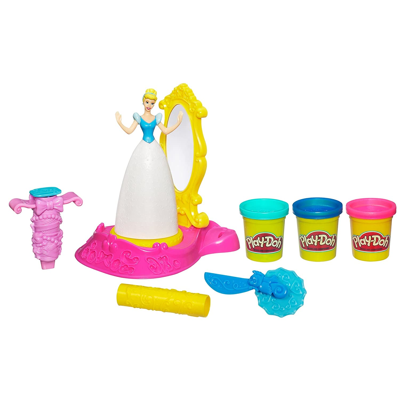 Обзор набора для лепки серии Play Doh от ТМ Hasbro 'Золушка'