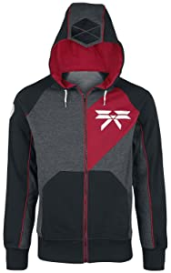 Destiny Titan Hooded zip grey black redCustomer reviews and more news