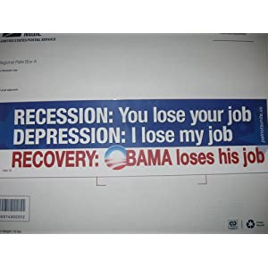 recession depression obama lose his job