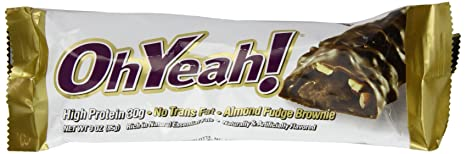 ISS Oh Yeah! Protein Riegel 12er Box, Almond Fudge Brownie, 12x85 g