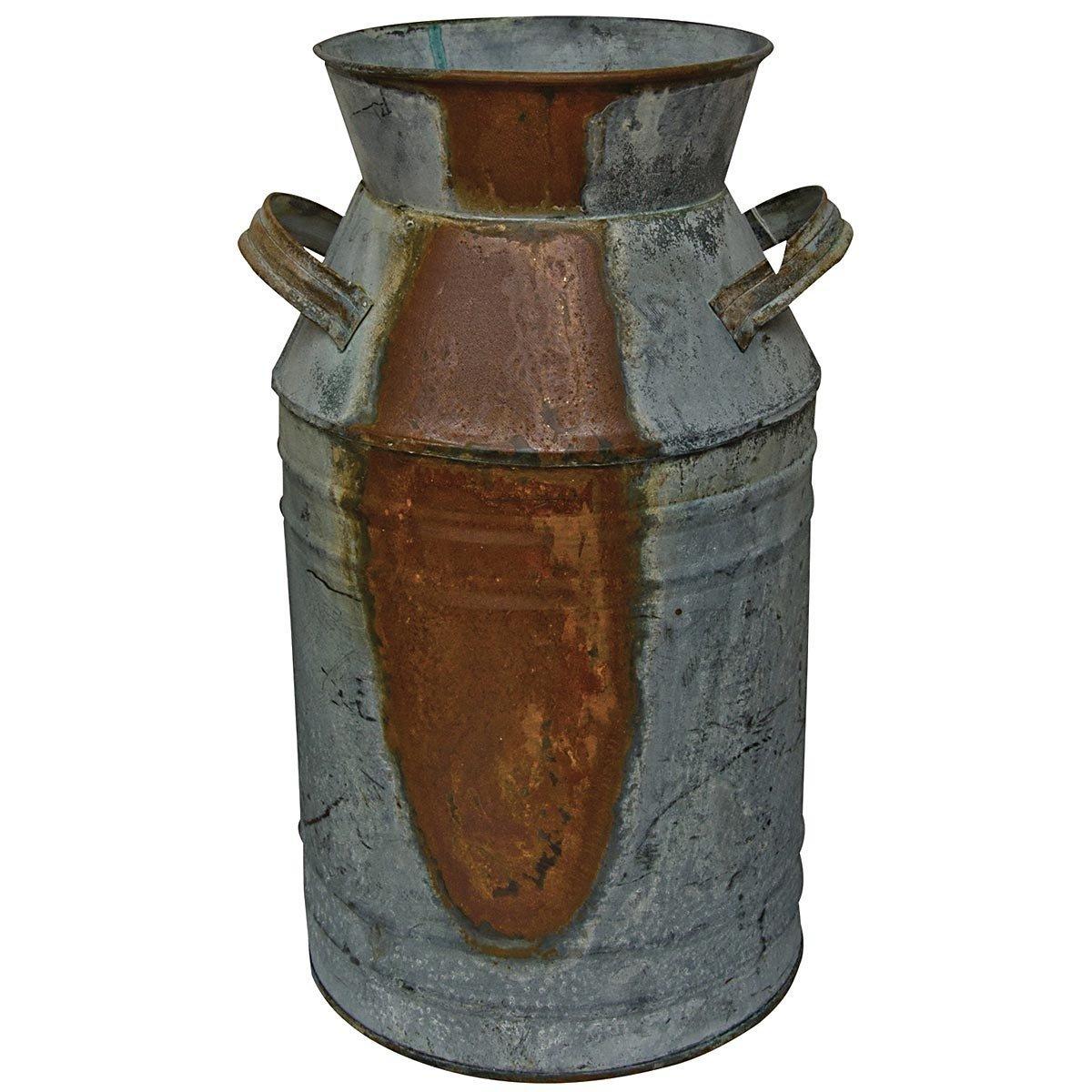 Country Rustic Primitive Jug Vase