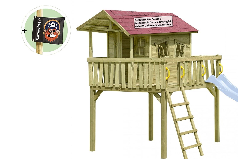 Stelzenhaus Maxi-Fun Spielhaus für Kinder aus Holz von Gartenpirat jetzt kaufen