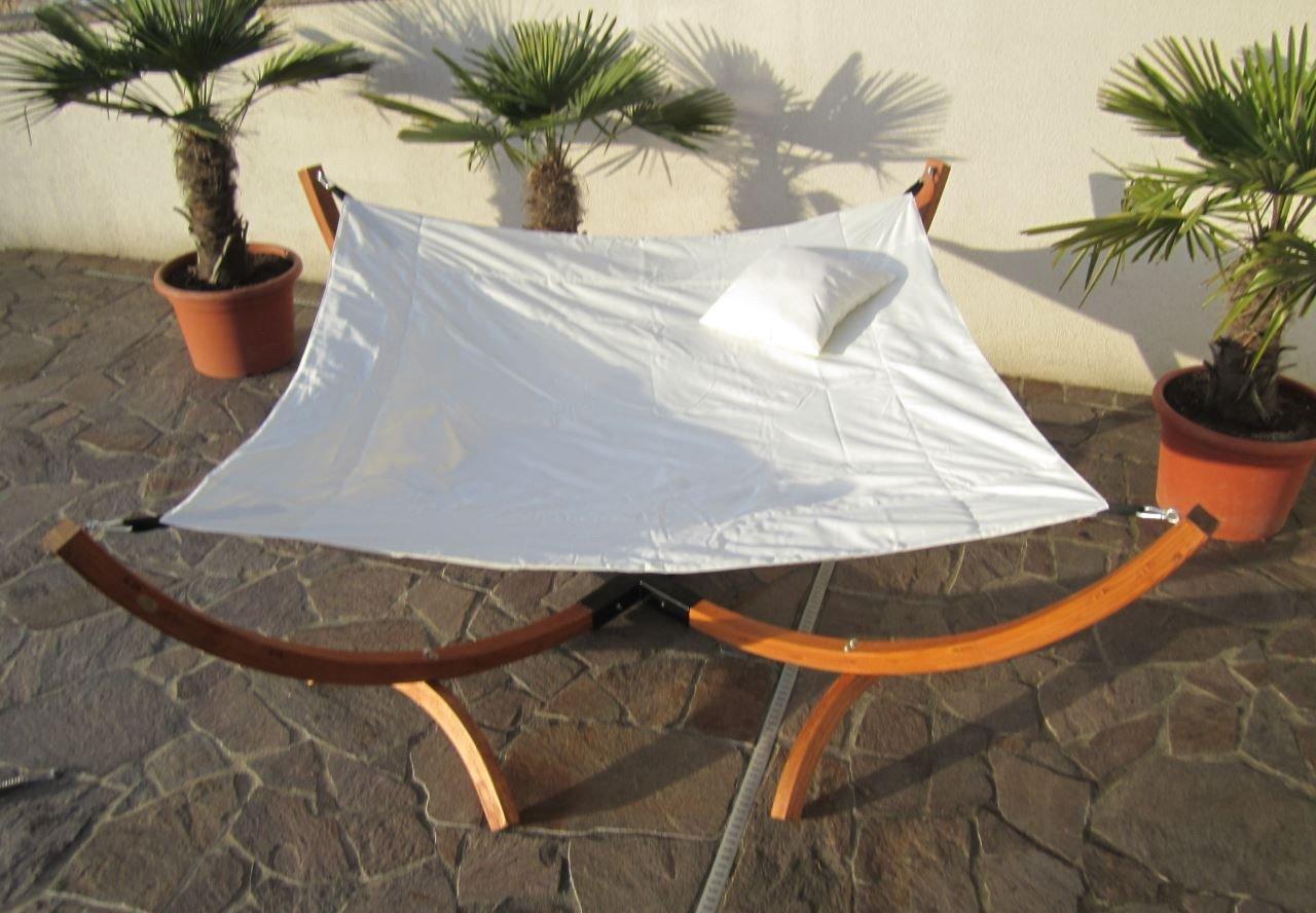 Sonnenliege Doppelliege Gartenliege Hängematte Hängemattengestell Doppel Liege Gartenmöbel BANZAI von AS-S bestellen