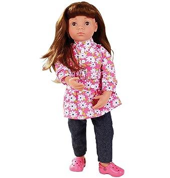 Gotz Happy Kidz Clara 1366014, articulee, 9 articulations, 50 cm, cheveux roux