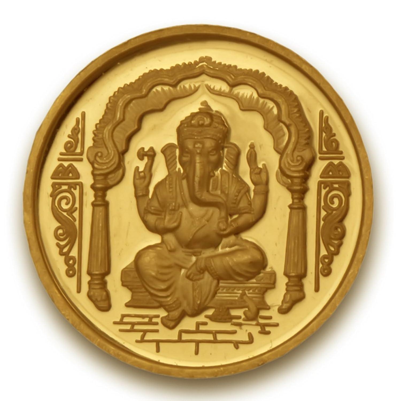 BIS Hallmarked 10 grams 24k (995) Yellow Gold Precious Coin