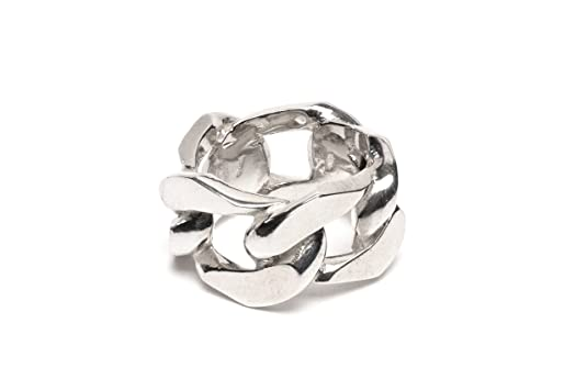 Wouters & Hendrix Women's 925 Sterling Silver Chain Ring
