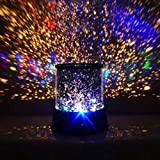 Romantic Astro Cosmos Universe Outer Space Night Light Starry Sky Star Projector Lamp (Type C) (Color: Type C)