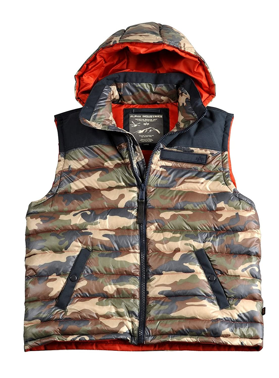 Alpha Industries Expedition Down Vest Herren Weste Daunenweste 30241 online kaufen