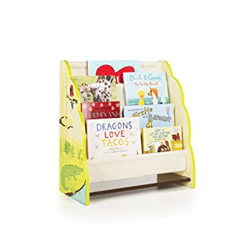 Guidecraft-Libreria da esposizione per feste, motivo: giungla