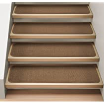 Indoor Toffee Brown Stair Treads