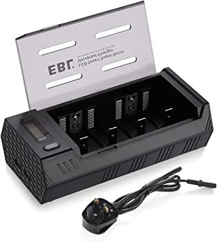 EBL LCD Display Battery Charger