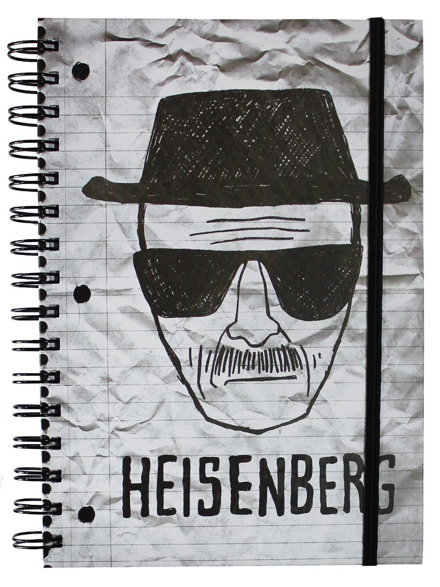 Breaking Bad Heisenberg Notebook
