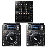 Pioneer DJ DJM-750MK2 4-Channel Professional DJ Club Mixer with XDJ-1000MK2 DJ Multi Players